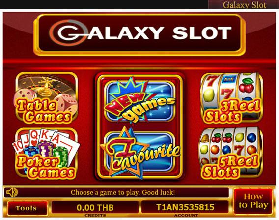 galaxy slot online